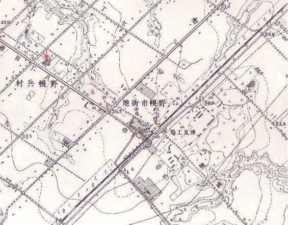野幌駅周辺のの今昔_f0078286_1101821.jpg