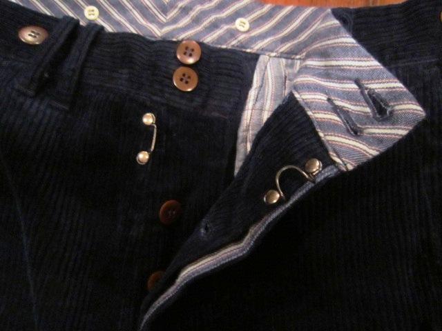 "ANACHRONORM \""INDIGO Cord Work JKE&PANTS\"" ご紹介_f0191324_10115712.jpg"