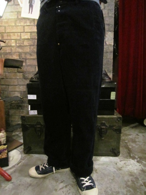 "ANACHRONORM \""INDIGO Cord Work JKE&PANTS\"" ご紹介_f0191324_1012124.jpg"