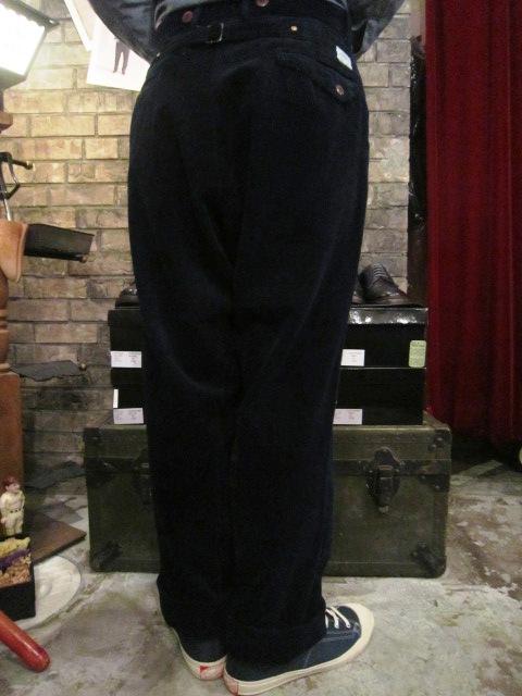 "ANACHRONORM \""INDIGO Cord Work JKE&PANTS\"" ご紹介_f0191324_10125316.jpg"