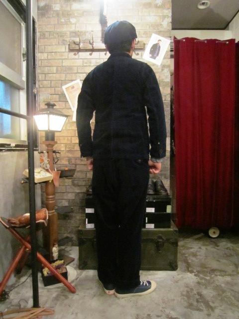 "ANACHRONORM \""INDIGO Cord Work JKE&PANTS\"" ご紹介_f0191324_10133636.jpg"