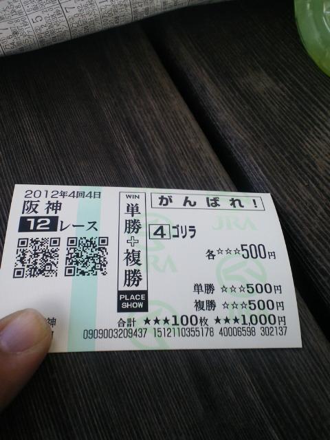 今日の阪神12レース_c0001670_160920.jpg