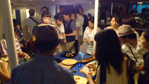 OCEANUS presents 須永辰緒さん@sunaga_t  の名イベント【夜ジャズ】プレミアムクルーズ2012楽しかった☆→_b0032617_17274058.jpg