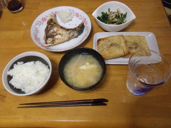 本日の夕食_a0149524_2224295.jpg