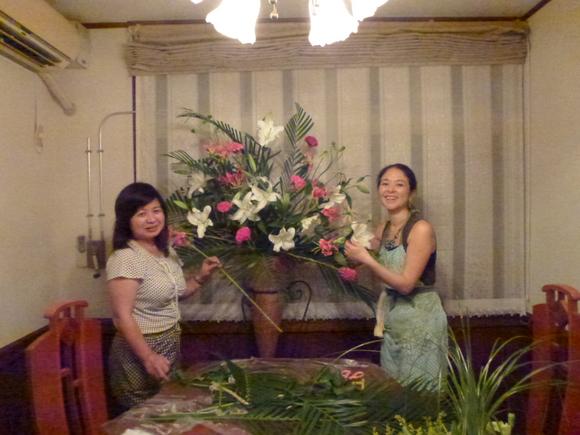 沖縄台風!と楽しい花展&セミナー_f0095325_2205141.jpg