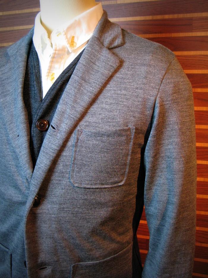 ◆Wool Knit IVY Jacket_e0142928_17312845.jpg