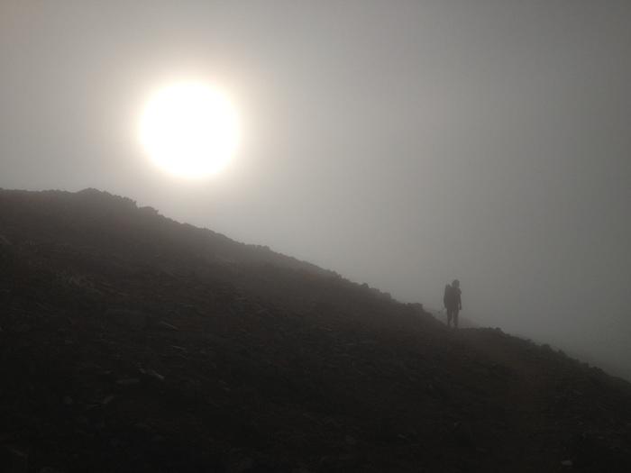 2012.8.31-9.2 表銀座を歩く旅 day2  大天荘-蝶ヶ岳ヒュッテ_b0219778_18231890.jpg
