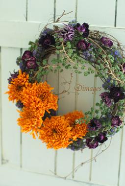 Autumn Wreath ♪_d0167088_1482369.jpg