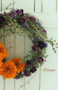 Autumn Wreath ♪_d0167088_1491373.jpg