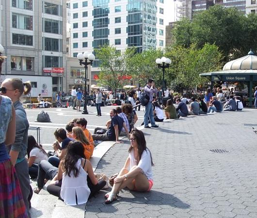 ニューヨークのユニオン・スクエア風景_b0007805_07557.jpg