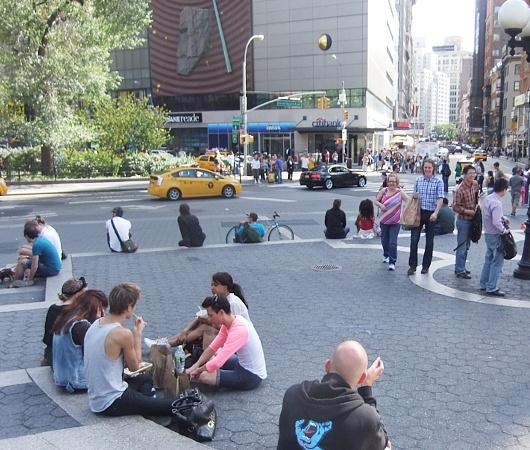 ニューヨークのユニオン・スクエア風景_b0007805_08339.jpg