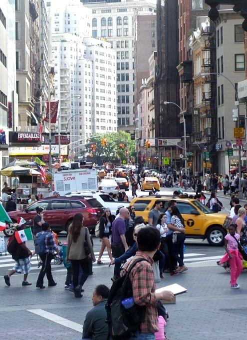 ニューヨークのユニオン・スクエア風景_b0007805_091330.jpg