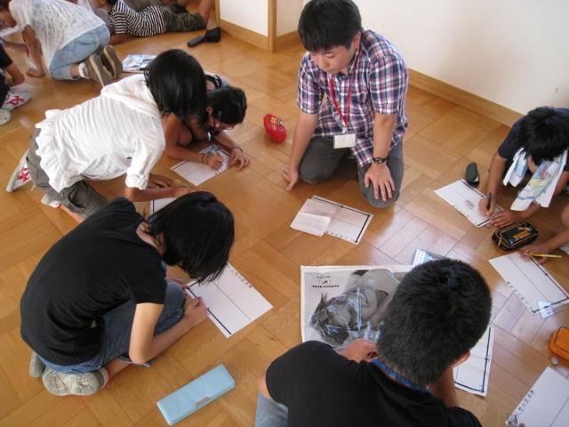 新潟市立赤塚小学校において『あなたのたいせつなものは何ですか?』のWSを行いました。_c0167632_1795639.jpg