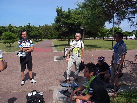 松島サイクリングへ_e0140354_102552.jpg