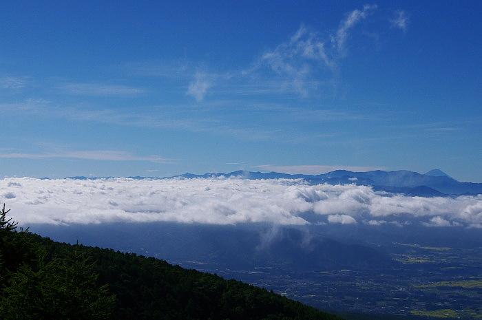 黒斑山で霧子は返上? _e0292469_1720192.jpg