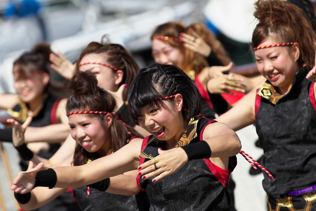 凰@第10回静岡おだっくい祭り_c0187584_1839432.jpg