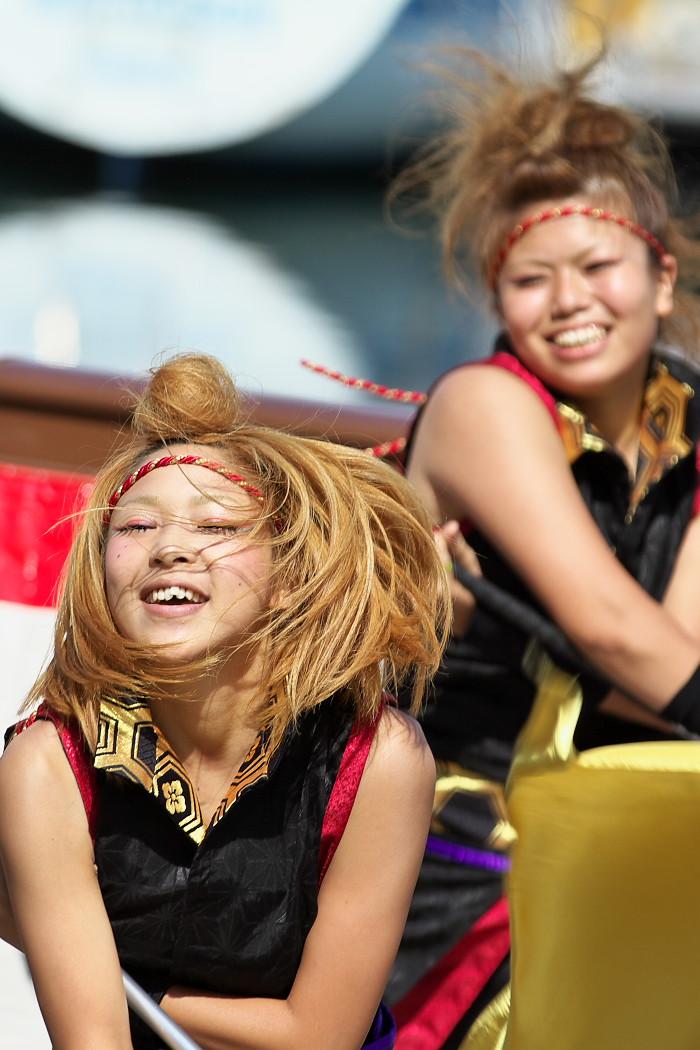 凰@第10回静岡おだっくい祭り_c0187584_1842792.jpg