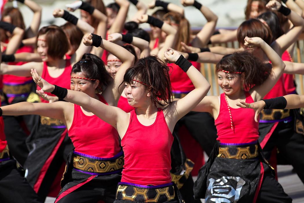 凰@第10回静岡おだっくい祭り_c0187584_18442319.jpg