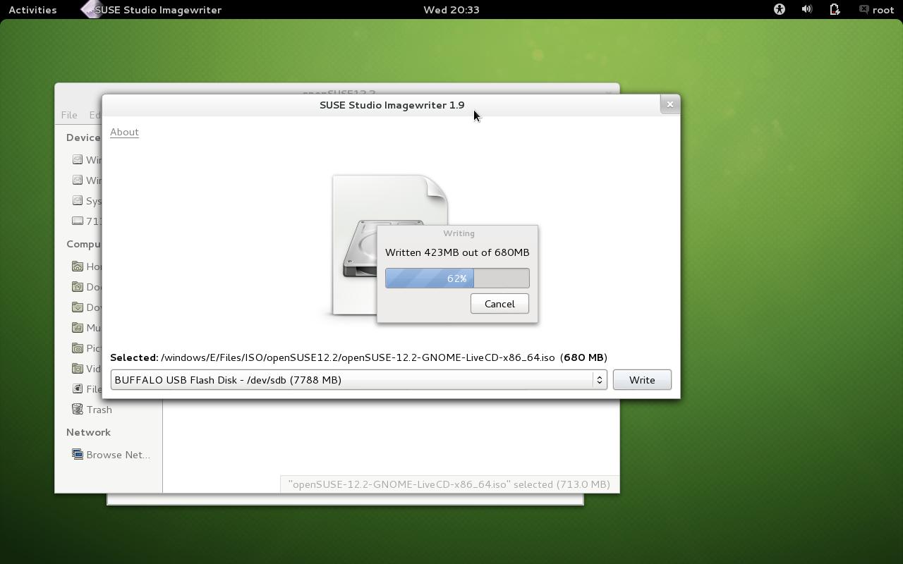 openSUSE の Live CD をUSBメモリに作成する。_a0056607_21201733.png