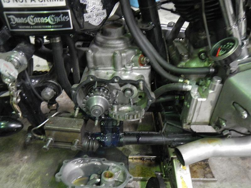 Kick修理&発電修理_c0152253_9214219.jpg