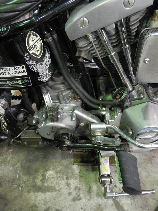 Kick修理&発電修理_c0152253_92152.jpg