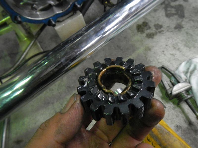 Kick修理&発電修理_c0152253_9283376.jpg
