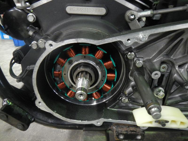 Kick修理&発電修理_c0152253_9293011.jpg