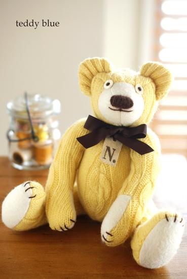 happy yellow teddy  幸せの黄色いテディ_e0253364_2353732.jpg