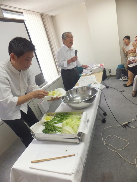 '50℃洗い'でお野菜が生き返る?!低温蒸しもおススメです。_f0094800_164312.jpg