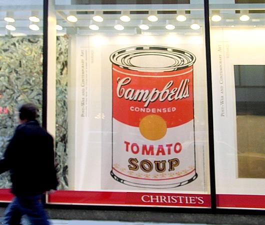ウォーホールの代表作「キャンベル・スープ缶」を再現した本物のスープ缶がたった75セント?!_b0007805_8212472.jpg