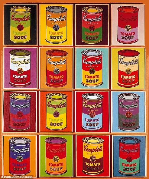 ウォーホールの代表作「キャンベル・スープ缶」を再現した本物のスープ缶がたった75セント?!_b0007805_9112369.jpg