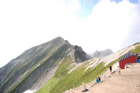 唐松岳登山 ~唐松岳③~_f0177714_9232110.jpg