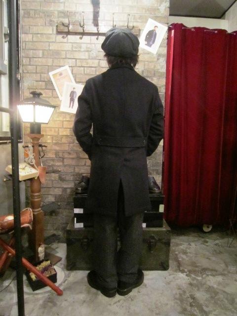 "FIDELITY \""SHORT PEA COAT & TAILORED COAT\"" ご紹介_f0191324_8111553.jpg"