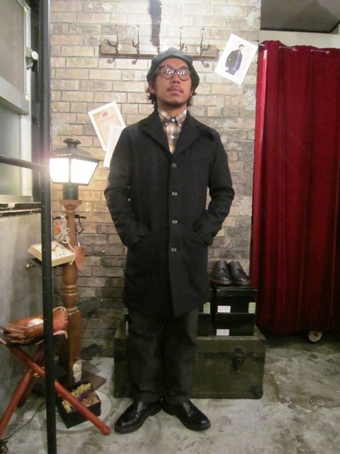 "FIDELITY \""SHORT PEA COAT & TAILORED COAT\"" ご紹介_f0191324_811835.jpg"