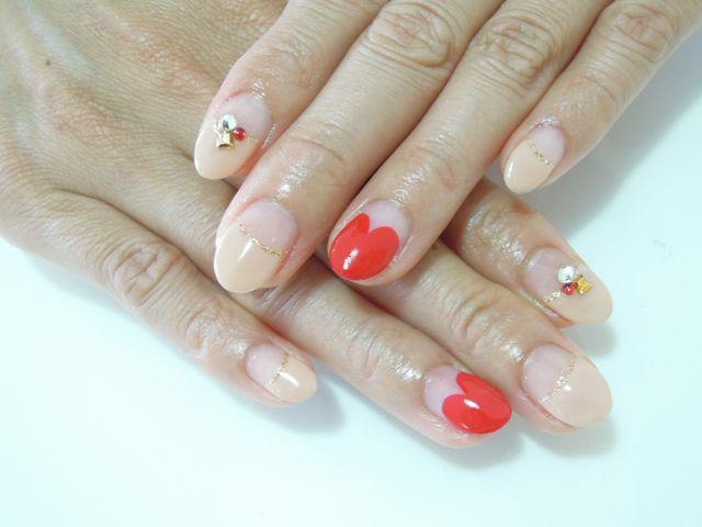 Pickup Nail〜Beige_a0239065_16255270.jpg