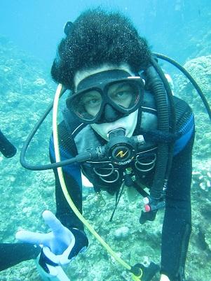 ボート体験ダイビング2回コース☆_a0156273_1682685.jpg