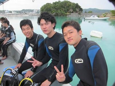 ボート体験ダイビング2回コース☆_a0156273_168351.jpg