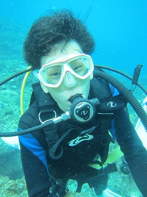 ボート体験ダイビング2回コース☆_a0156273_1683512.jpg