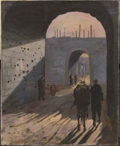 戦時下に描かれた?なぞ?の絵画とは。。丸木美術館にて_f0223981_176159.jpg