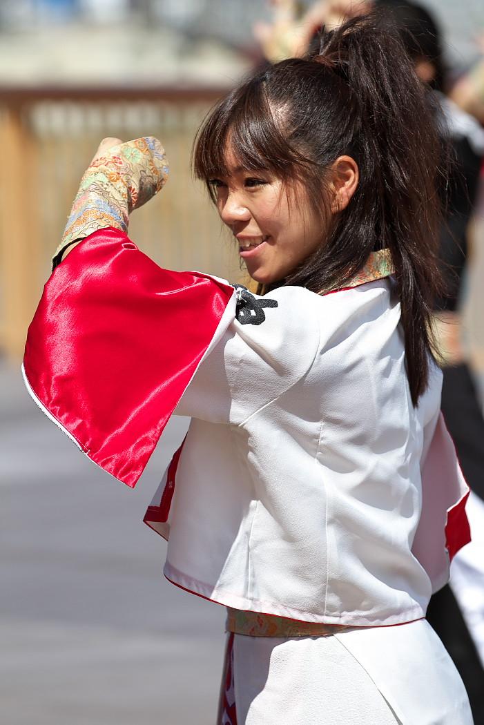 よさこい炎舞連神陽~Sin~@第10回静岡おだっくい祭り_c0187584_1903147.jpg