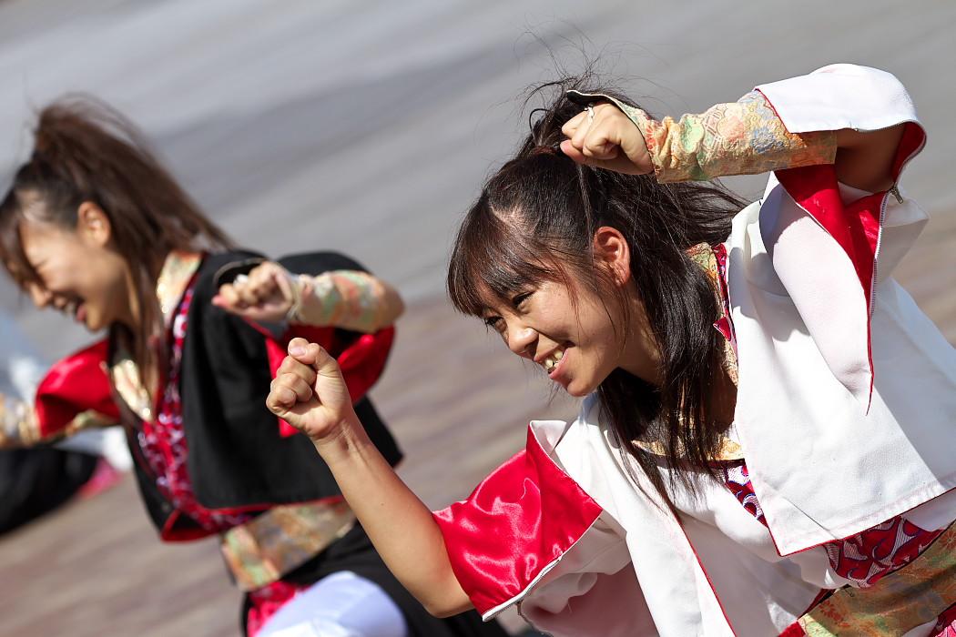 よさこい炎舞連神陽~Sin~@第10回静岡おだっくい祭り_c0187584_1904052.jpg