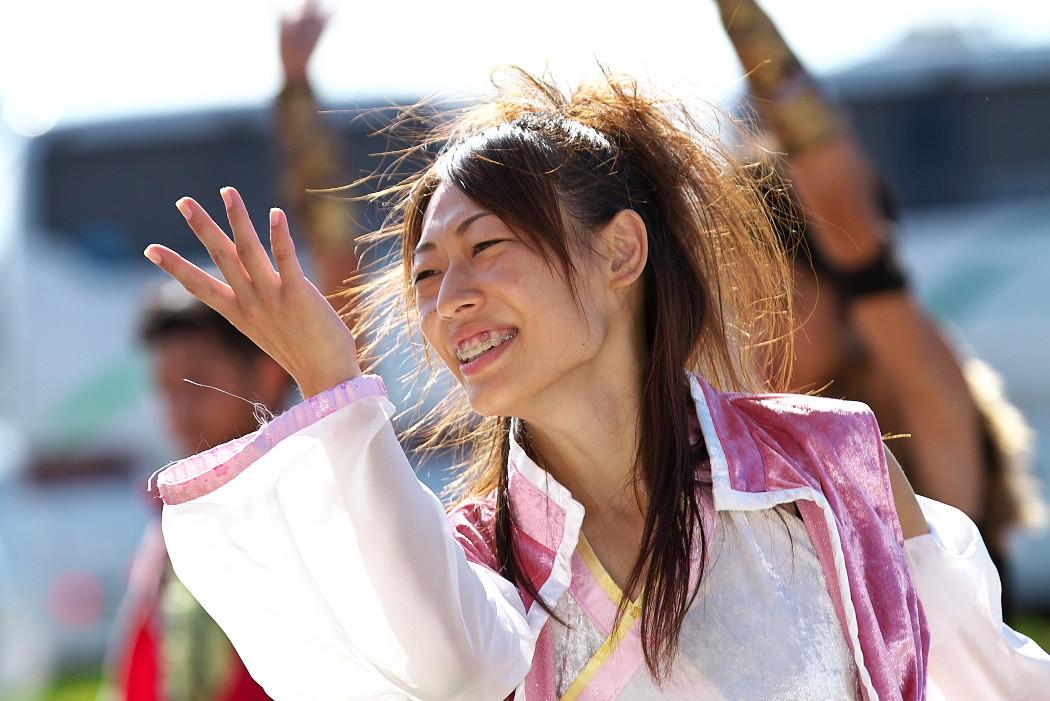 よさこい炎舞連神陽~Sin~@第10回静岡おだっくい祭り_c0187584_1935345.jpg
