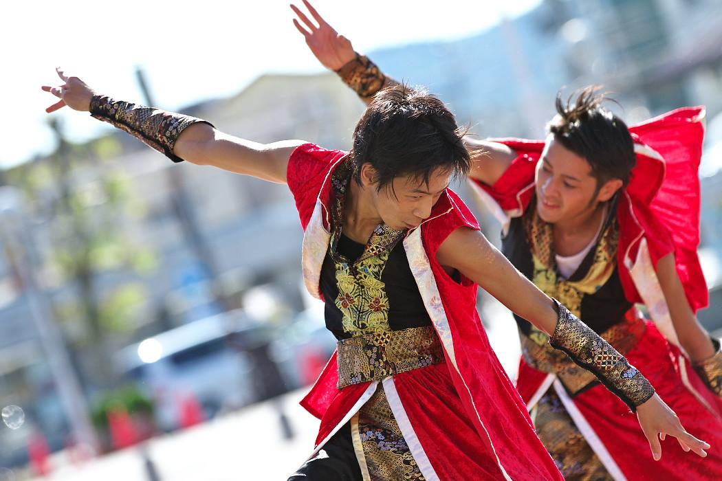 よさこい炎舞連神陽~Sin~@第10回静岡おだっくい祭り_c0187584_1951738.jpg