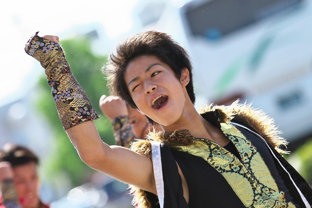 よさこい炎舞連神陽~Sin~@第10回静岡おだっくい祭り_c0187584_1954771.jpg