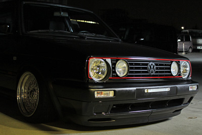 vw golf2 gti bbs rs wheel