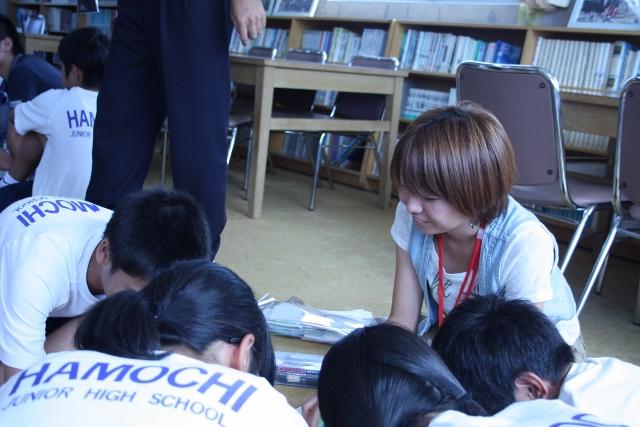 佐渡市立羽茂中学校にてワークショップ「Why do we study?」を実施しました。_c0167632_13594462.jpg