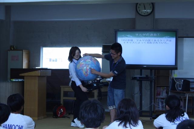 佐渡市立羽茂中学校にてワークショップ「Why do we study?」を実施しました。_c0167632_14012.jpg