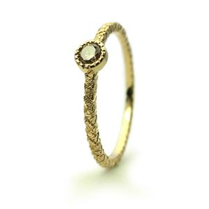 ミルグレインとブラウンダイヤの婚約指輪_e0131432_10415178.jpg