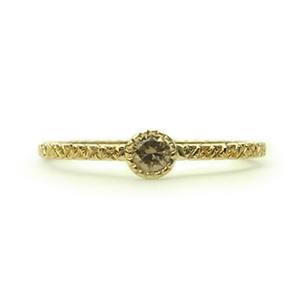 ミルグレインとブラウンダイヤの婚約指輪_e0131432_1042895.jpg