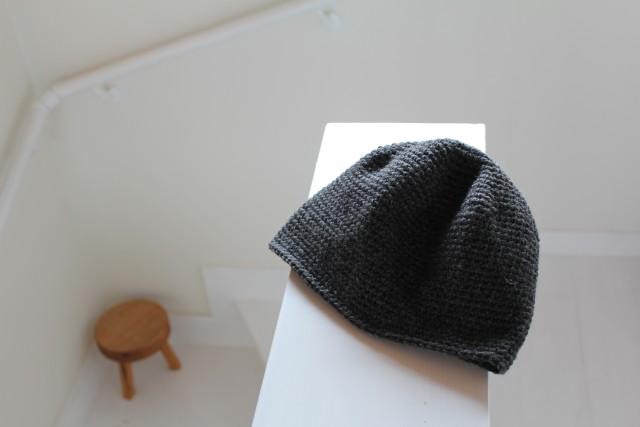 黒い毛糸の帽子_b0132338_11343986.jpg